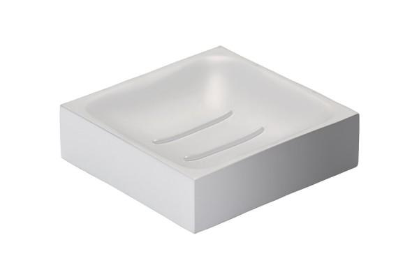 Seifenschale Confetti Square Weiß