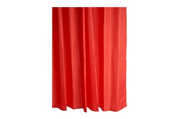 Duschvorhang Mono Rot