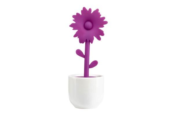 Tee Ei Flower Viollett