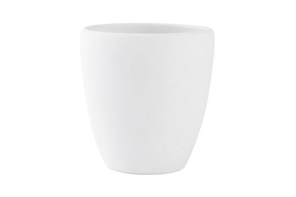 Zahnputzbecher Confetti Soft Weiß